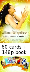 Affirmation Goddess Box Set: <br>60 cards + 148p book. <b>PRE-RELEASE OFFER</b>