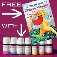 Free book with every set 100% pure essential oil blends